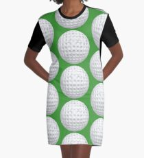 Golf Ball Graphic T-Shirt Dress