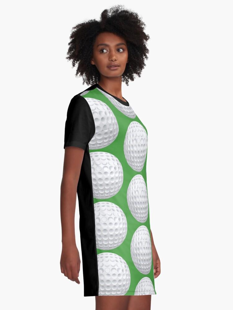 Alternate view of Golf Ball Graphic T-Shirt Dress