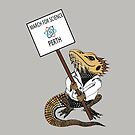 March for Science Perth – Beardie, full color by sciencemarchau