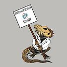 March for Science Sydney – Beardie, full color by sciencemarchau