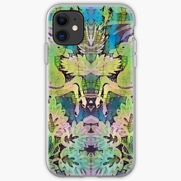 Green Horse iPhone Soft Case