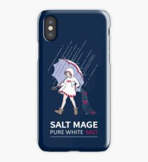 Pure White Salt Mage iPhone Case/Skin