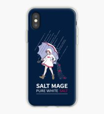 Pure White Salz Magier iPhone-Hülle & Cover