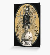 Lucinda Octavio, Deep Sea Milliner Greeting Card