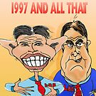 Tony Blair and John Prescott Caricatures  by Grant Wilson