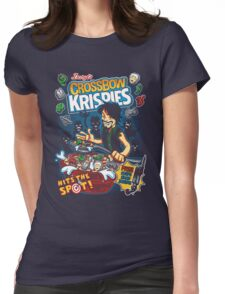 Crossbow Krispies Womens Fitted T-Shirt