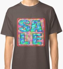 Sale word text Fun Humour Classic T-Shirt