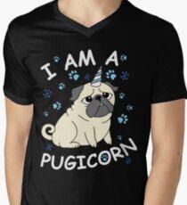 I am a Purgicorn Men's V-Neck T-Shirt