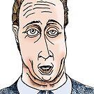 David Cameron Funny Cartoon Caricature by Grant Wilson