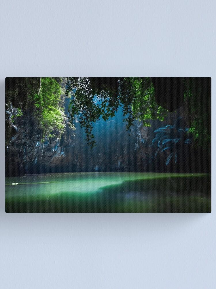 Alternate view of Lagoon Canvas Print