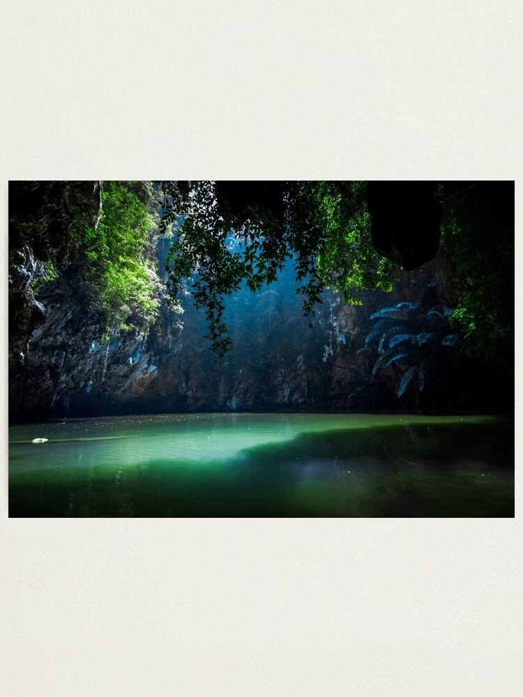 Alternate view of Lagoon Photographic Print