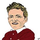 Willie Bauld Cartoon Caricature by Grant Wilson