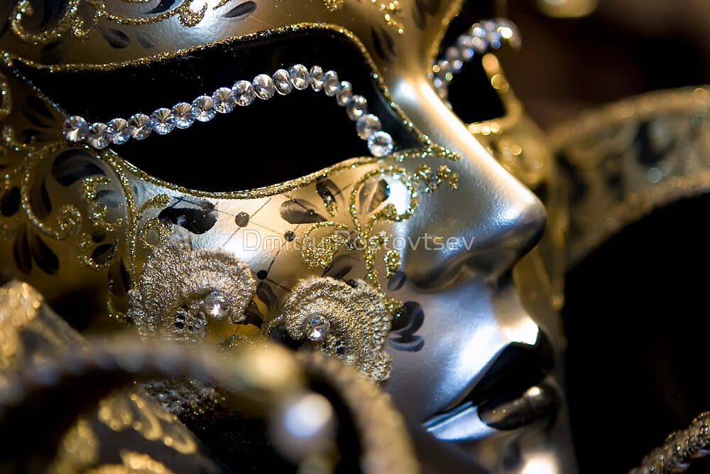 Venetian mask by Dmitry Rostovtsev