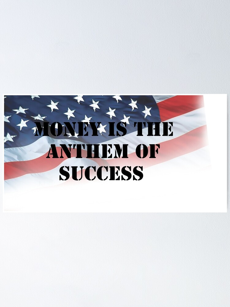Money Is The Anthem Of Success Lana Del Rey Poster By Space Otter 200 Redbubble