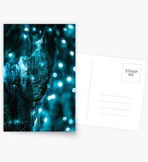 Glowworms in New Zealand Postcards