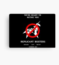 Blade Runner Ghostbuster spoof Canvas Print
