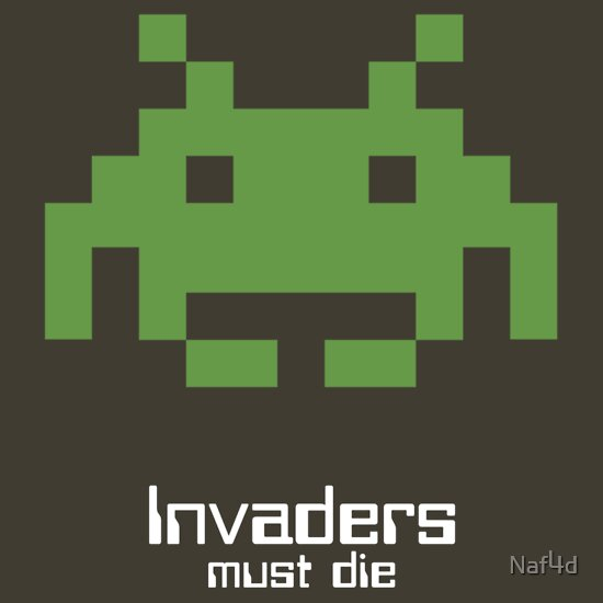 TShirtGifter presents: Invaders must die