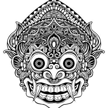 Barong mask by BohoFruits