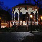 Muziek Kiosk op het Munsterplein, Roermond by George Parapadakis ARPS (monocotylidono)