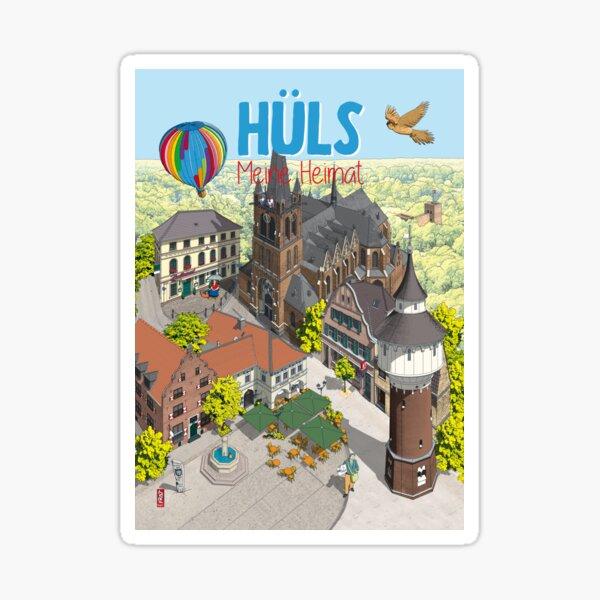 Hüls · Meine Heimat Sticker