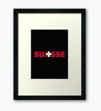 Switzerland suisse Framed Print