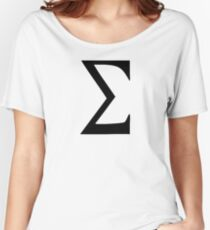 Sigma Women's Relaxed Fit T-Shirt