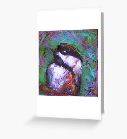 Reasons to Be Cheerful : Chickadees Greeting Card