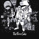 The Force Side by mikehandyart