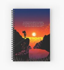 colors of the wind Spiral Notebook