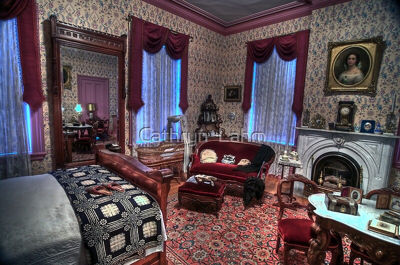Quot Ladies Elegant Bed Room 1800 S Home Quot By Cathryn Lahm