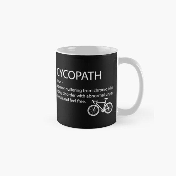 Cycling Funny - Cycopath Noun  Classic Mug