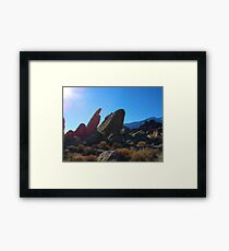 Tremors worm Framed Print
