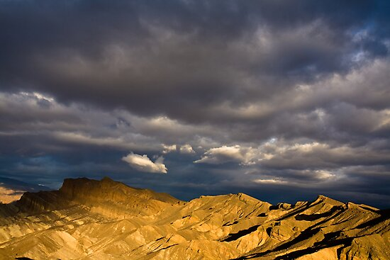 Dramatic Clouds at Sunrise in Death Valley by Nickolay Stanev