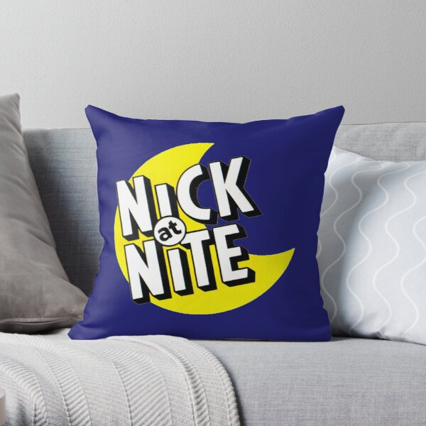 Nick at Nite 90s Throw Pillow