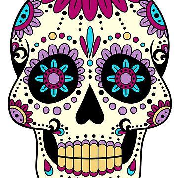 skull purple by fabien-p