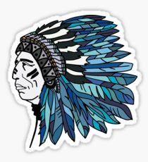 Indiana Boho  Sticker