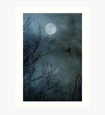 Winter's Silence Art Print