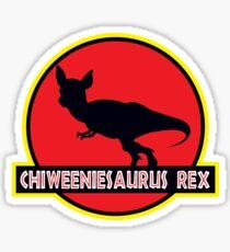 Chiweeniesaurus Rex Sticker