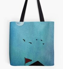 All Through the Night Tote Bag