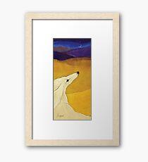 Distant Dunes Framed Print