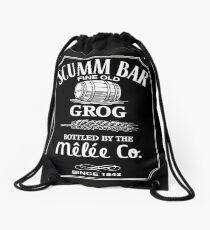 Monkey Island Scumm Bar Grog Drawstring Bag