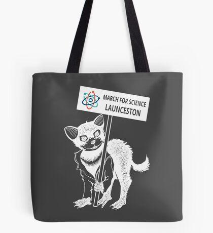 March for Science Launceston – Tassie Devil, white Tote Bag