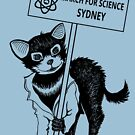 March for Science Sydney – Tassie Devil, black by sciencemarchau