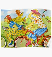 Bicycle Belles Poster