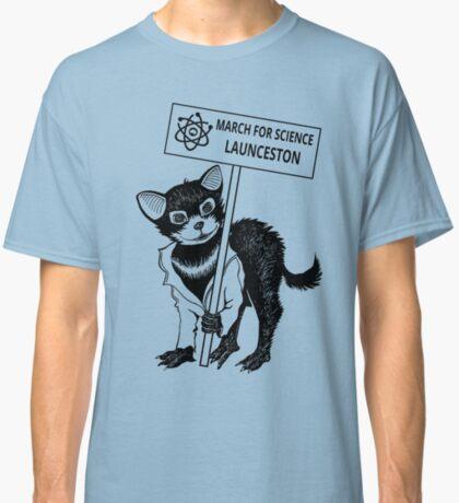 March for Science Launceston – Tassie Devil, black Classic T-Shirt
