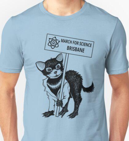 March for Science Brisbane – Tassie Devil, black T-Shirt