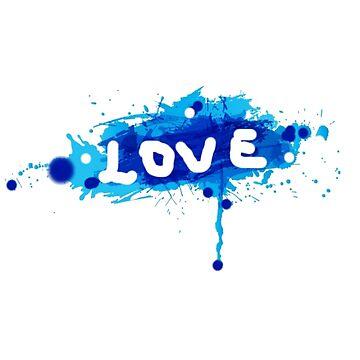 T-shirt Love erasure by marcosprimar