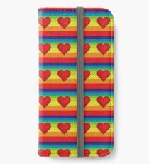 Rainbow Hearts iPhone Wallet/Case/Skin