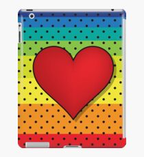 Rainbow Hearts iPad Case/Skin