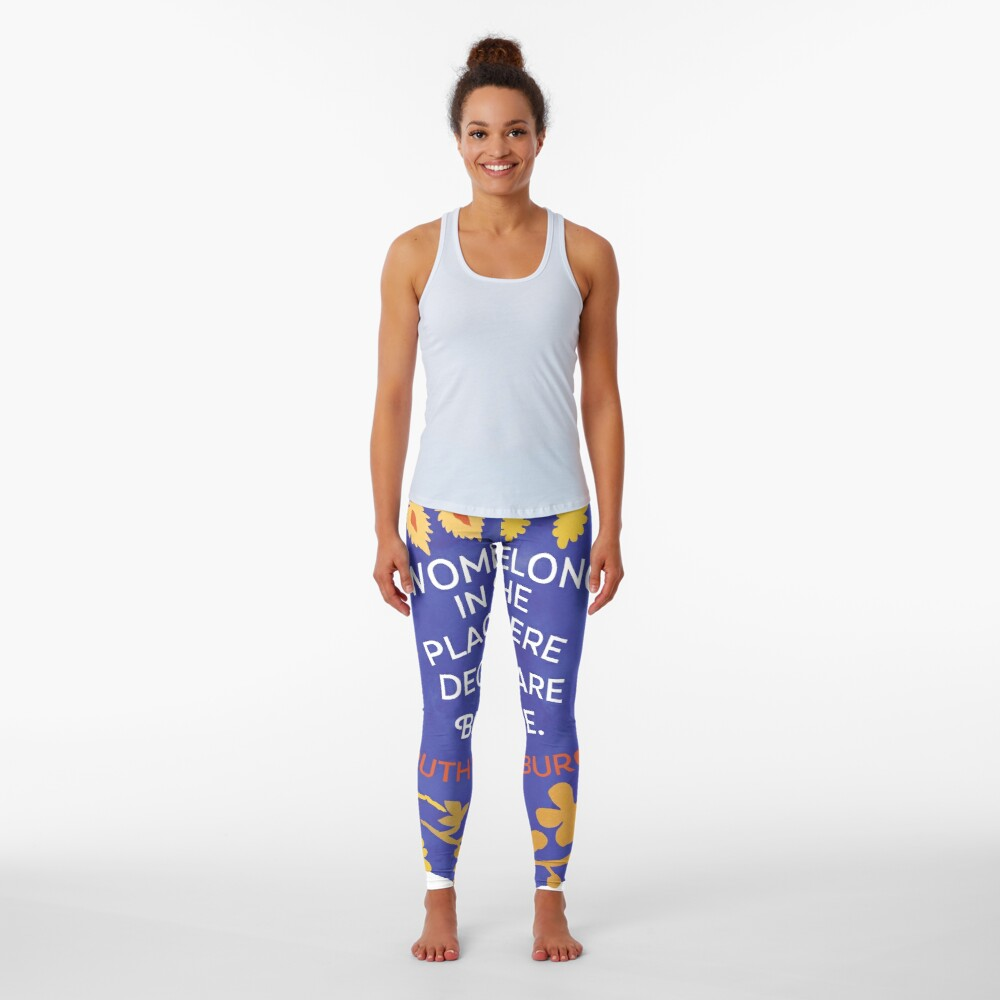 Women Belong In All The Places Where Decisions Are Being Made, Ruth Bader Ginsburg Leggings
